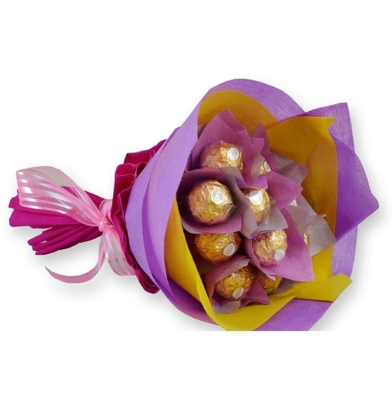10 Ferrero Rosher Chocolate Bouquet in Pune Designs, Images, Price