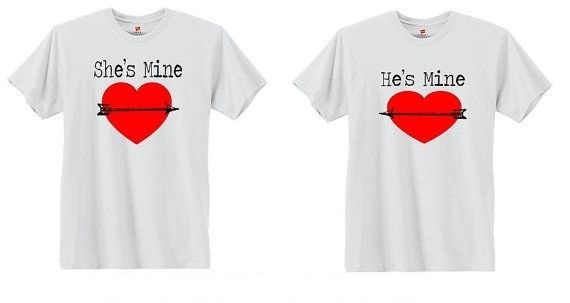 Customized Couple T-Shirt in Pune Designs, Images, Price