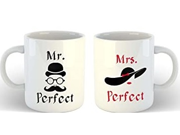 Customized Couple Mug 325 ML Each in Pune Designs, Images, Price