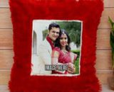 Customized Heart Furr Cushion in Pune Designs, Images, Price