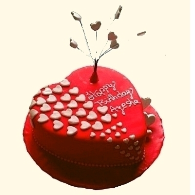Valentine's Day Heart Shaped Cake in Pune Designs, Images, Price