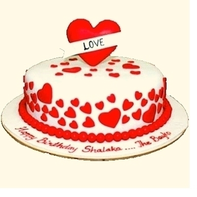 Valentine's Day Special Cake in Pune Designs, Images, Price