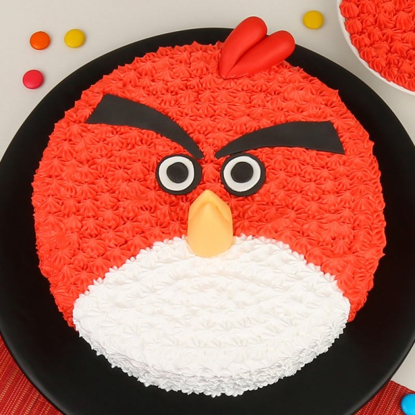 Angry Bird Cake in Pune Designs, Images, Price