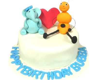 Ant & Elephant Cake