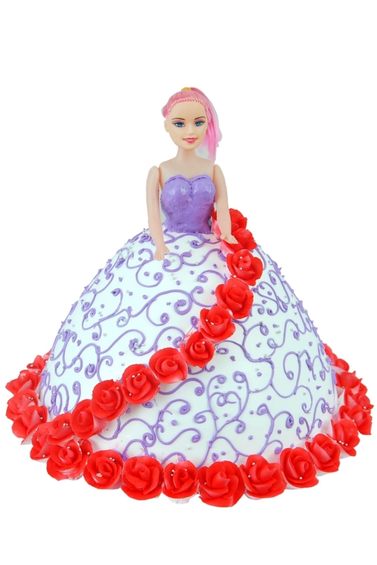 Barbie Shape Cake in Pune Designs, Images, Price