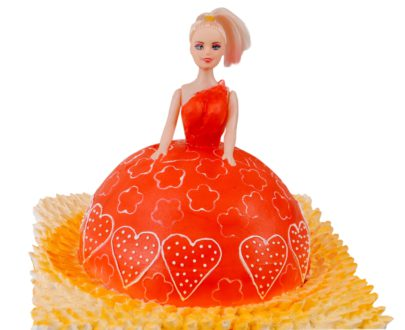 Barbie Shape Cake