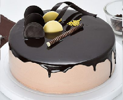 Chocolate Cream Gateau Cake