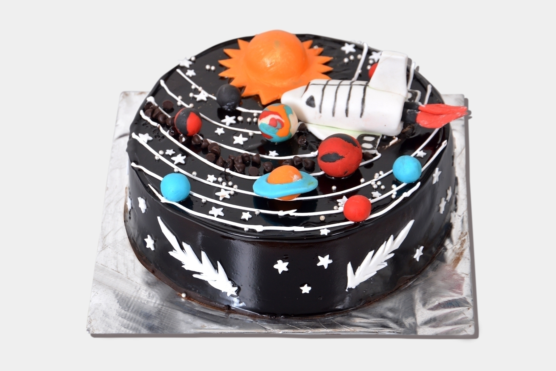 Chocolate Galaxy Cake in Pune Designs, Images, Price