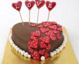 Designer Red Rose Cake (Fresh Cream) in Pune Designs, Images, Price