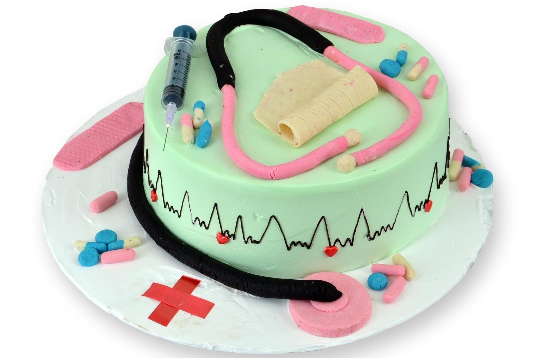 Doctor Theme Cake (Semi Fondant) in Pune Designs, Images, Price