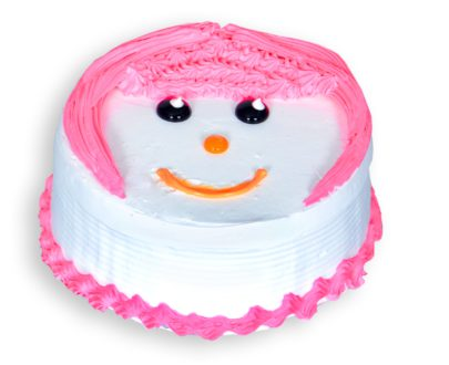 Doll Face Cake