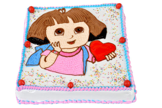 Dora Cartoon Cake in Pune Designs, Images, Price