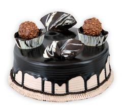 Ferrero Rocher Chocolate Cake in Pune Designs, Images, Price