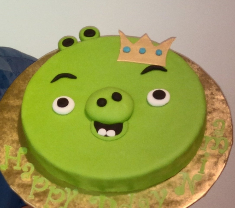 Green Pig Face Cake in Pune Designs, Images, Price