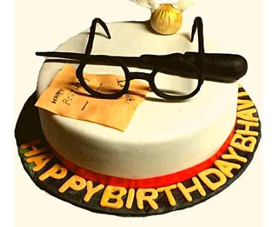 Harry Potter Theme Cake