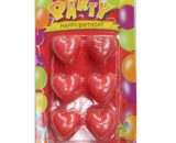 Heart Shaped Candles Packet