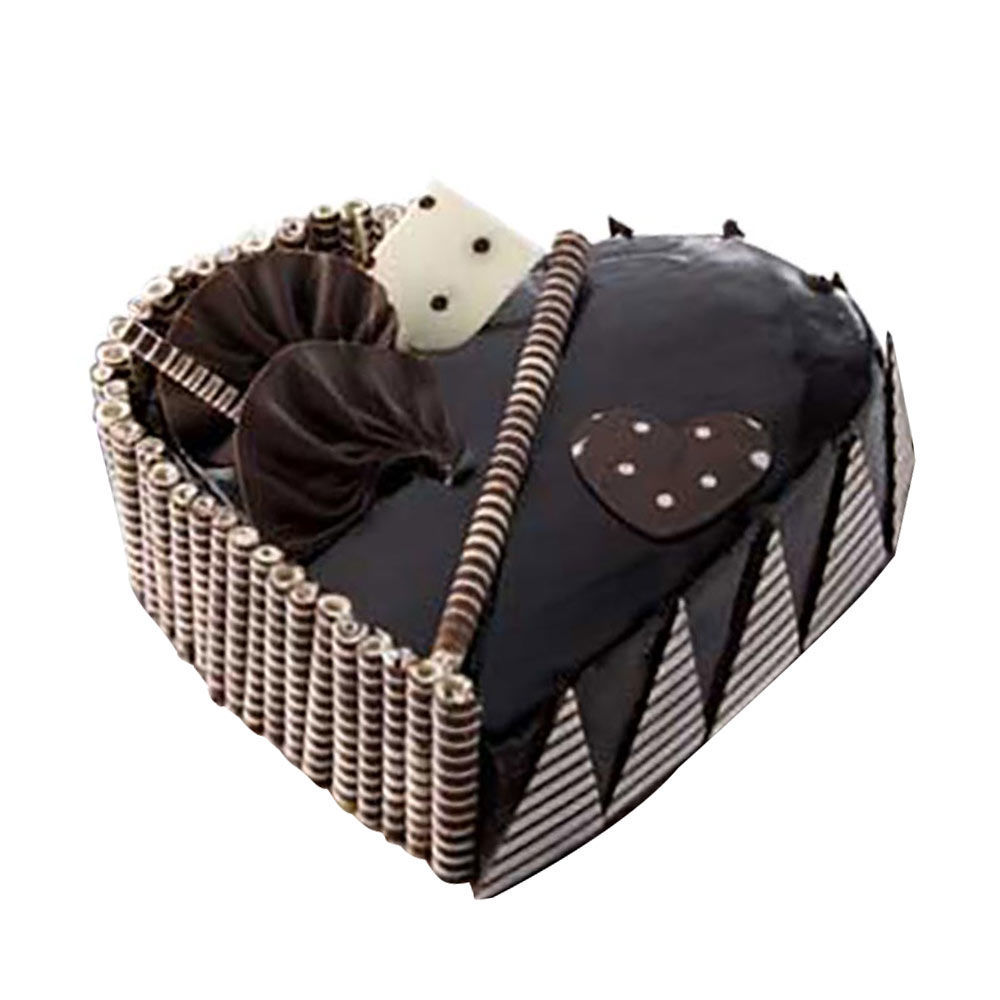 Heart Shaped Chocolate Cake in Pune Designs, Images, Price