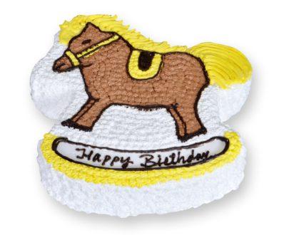 Horse Shaped Cake