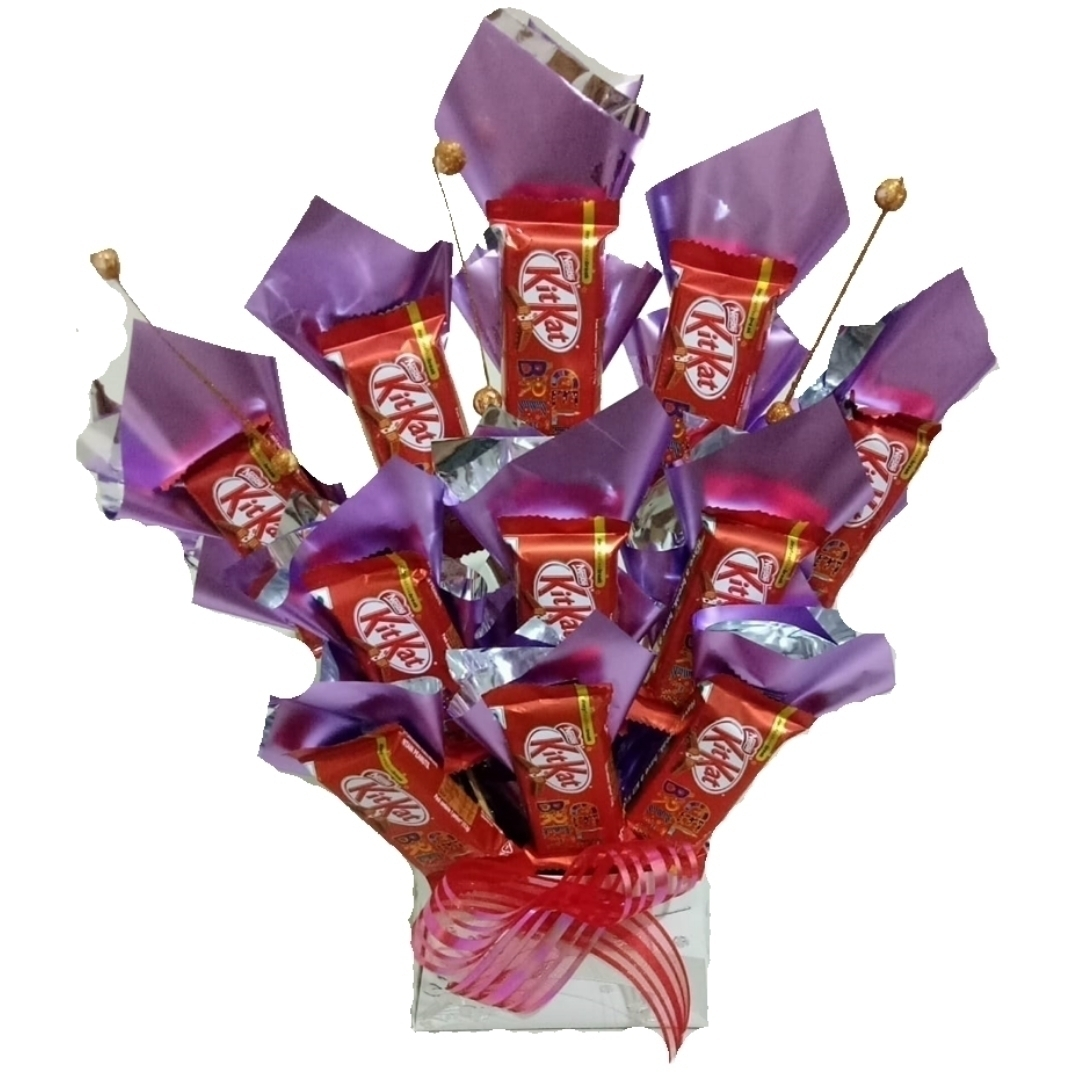 KitKat Chocolate Bouquet in Pune Designs, Images, Price