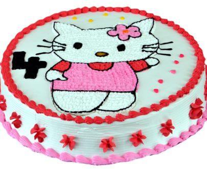Kitty Cartoon Cake