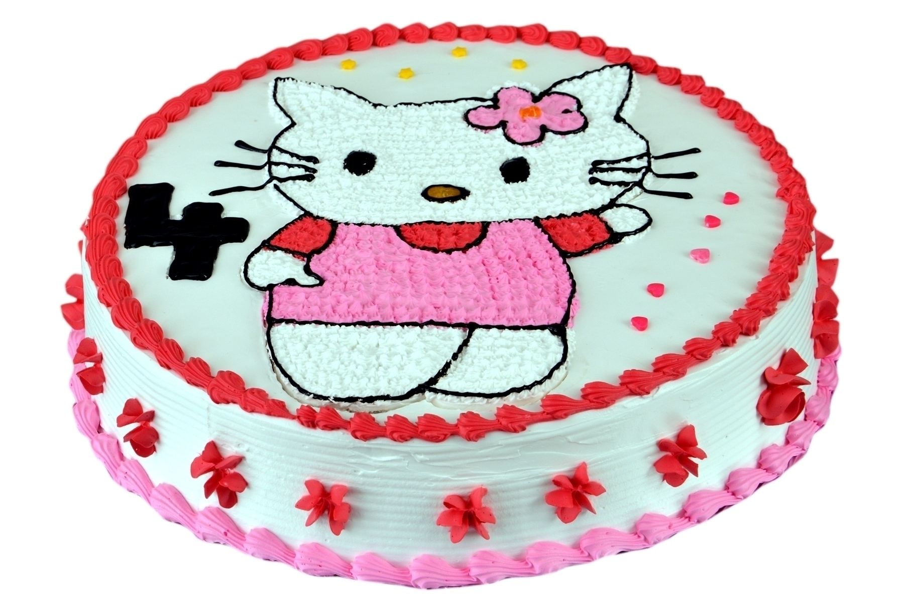 Kitty Cartoon Cake in Pune Designs, Images, Price