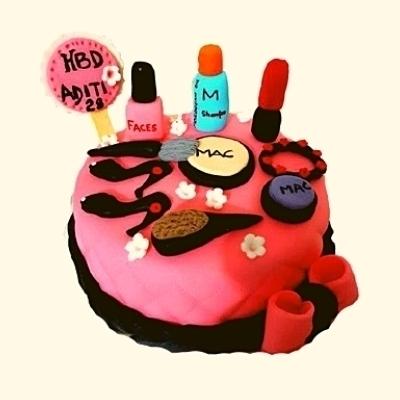 Makeup Kit Cake in Pune Designs, Images, Price