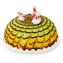 See how to make Mango Kiwi Cake