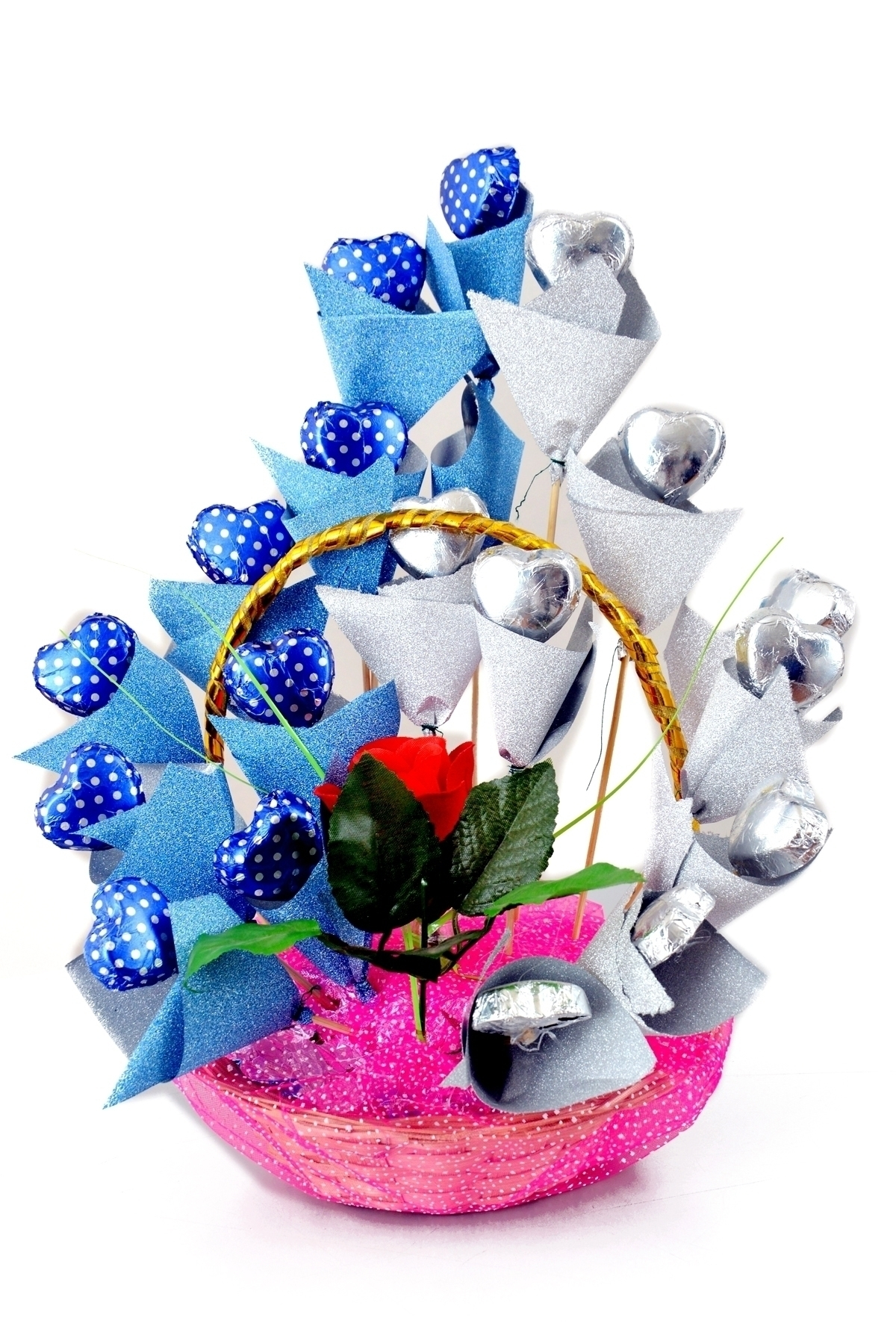 Milkey Heart Chocolate Bouquet in Pune Designs, Images, Price