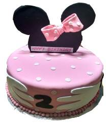 Minnie Mouse Cake in Pune Designs, Images, Price