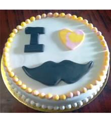 Mustache Cake in Pune Designs, Images, Price