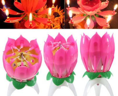 Musical Candle With Happy Birthday Sound in Pune Designs, Images, Price