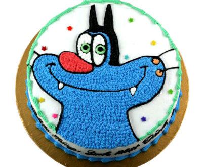 Oggy Cartoon Cake in Pune Designs, Images, Price
