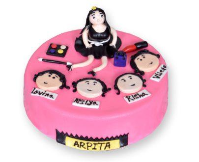 Party Girl Theme Cake