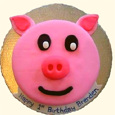 Piggy Face Cake in Pune Designs, Images, Price