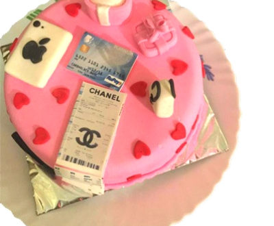 Shopping Lover Cake