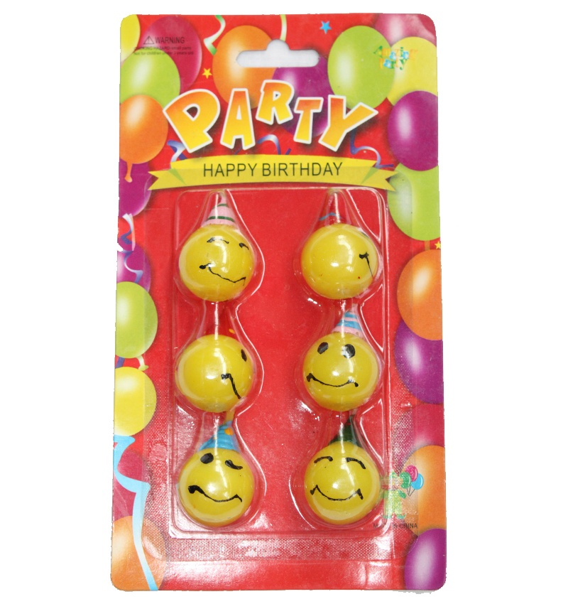 Smiley Face Candles Packet in Pune Designs, Images, Price