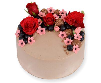Special Celebration Semi Fondant Cake