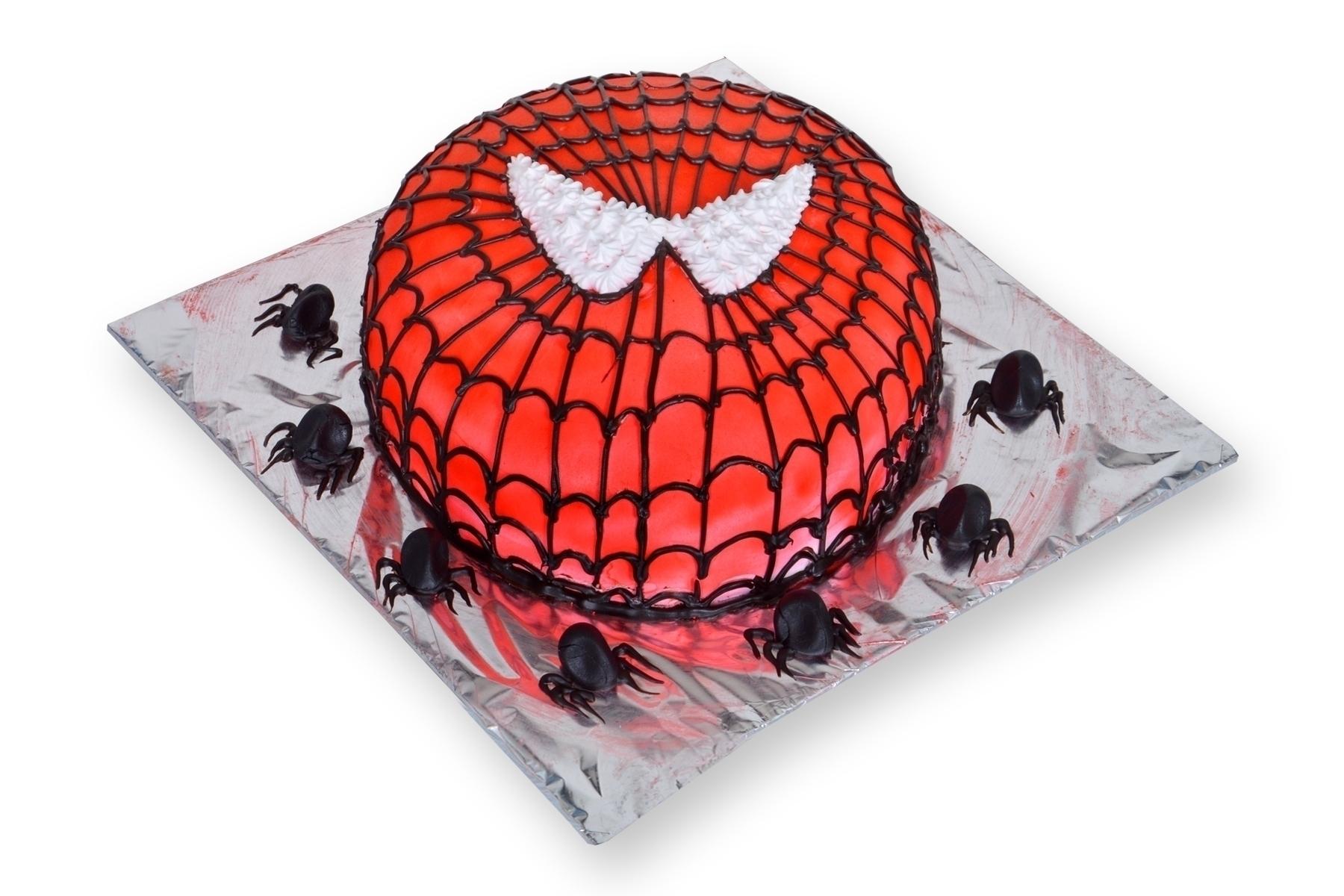 Spider Man Cake in Pune Designs, Images, Price
