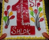 1 Shaped Cake in Pune Designs, Images, Price