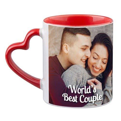 Customized Printed Mug 325 ML (Red) in Pune Designs, Images, Price