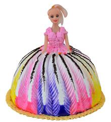Doll Shaped Cake
