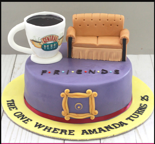 Friends TV Show Cake