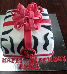 Gift Box Cake in Pune Designs, Images, Price