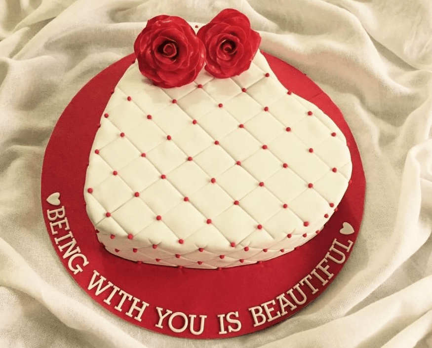 Heart Shape Cake in Pune Designs, Images, Price