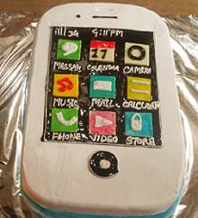 iPhone Shape Cake (Any Flavour) in Pune Designs, Images, Price