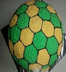 Mango Kiwi Football Cake in Pune Designs, Images, Price