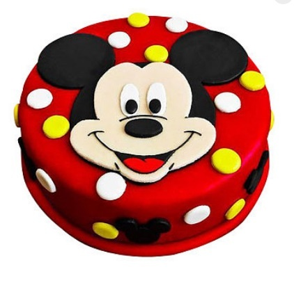 Mickey Mouse Cake in Pune Designs, Images, Price
