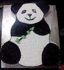 Panda Shaped Cake in Pune Designs, Images, Price