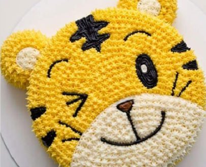 Tiger Face Cake in Pune Designs, Images, Price