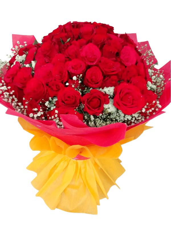 80 Rose Bouquet in Pune Designs, Images, Price